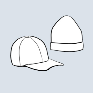 Illustration hats
